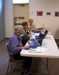 Community members learn computer skills with WNMU Adult Education Services.