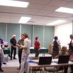 Open house attendees included representatives from Grant County governmental, educational, and social service organizations, as well as representatives from the NM Department of Information Technology, the NM Economic Development Department, and the Deming Public Library.