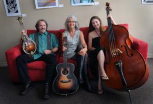 Hard Road Trio:  Steve Smith, Chris Sanders, and Anne Luna