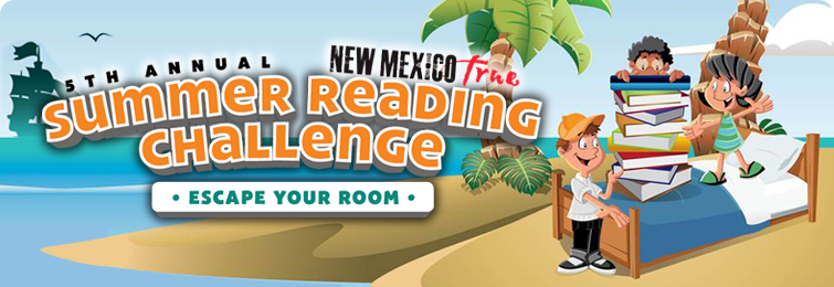Fifth annual New Mexico True Summer Reading Challenge: Escape Your Room