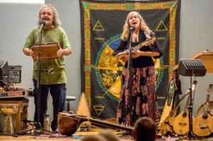 Christy Martin & Aodh Og O'Tuama perform
