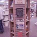 library book kiosk display