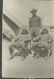 World War I soldiers, possibly from the First New Mexico Infantry