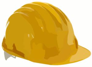 illustration of a hard hat